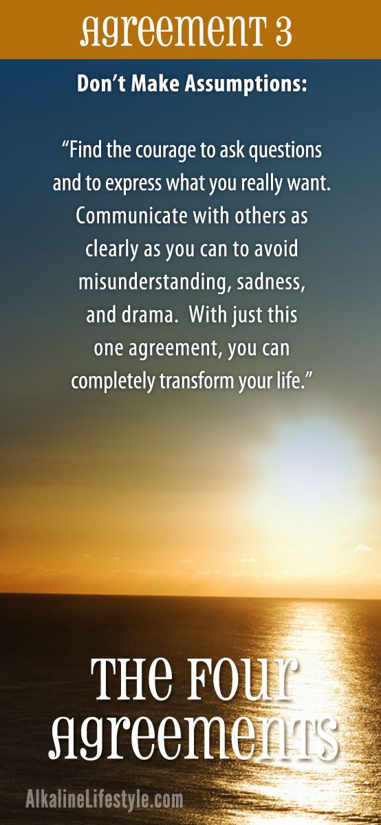 four agreement The four agreements summary shows you four ancient truths of toltec wisdom, how you've been domesticated since childhood and how to choose your own rules.