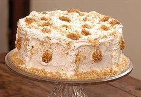 Torta de nozes natalina da minha mama