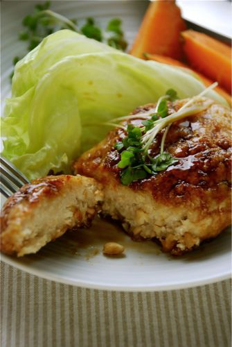 The Japanese Vegetarian Kitchen: Vegan Chicken teriyaki steak #veganmusttry