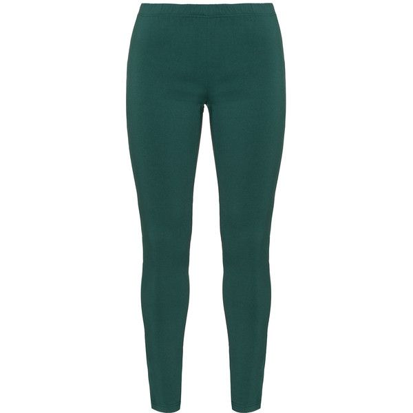 Gozzip Dark-Green Plus Size Leggings (3.870 RUB) ❤ liked on Polyvore featuring pants, leggings, plus size, stretch waist pants, high-rise leggings, high-waisted leggings, stretch leggings and elastic waist pants