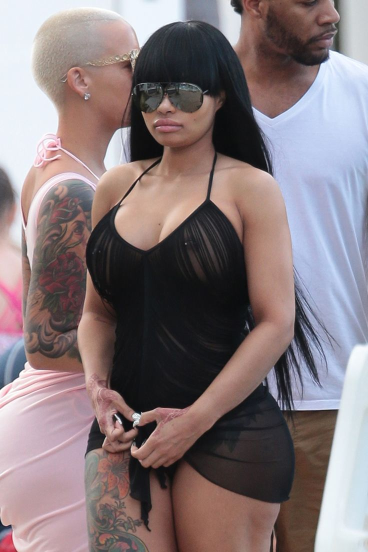 Blac chyna and amber rose twerking 7
