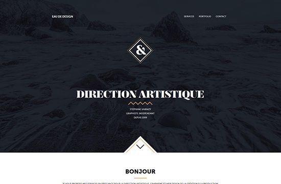 Portfolio de Stéphane Varnizy, graphiste freelance directeur artistique webdesigner, création graphique & web design : charte graphique, identité visuelle, UI UX design mobile et responsive