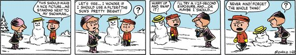 Peanuts Begins Comic Strip, April 26, 2016     on GoComics.com