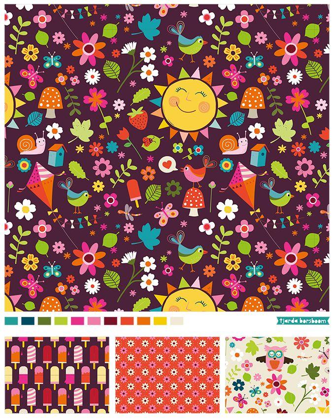 pattern summer - Tjarda Borsboom - www.zwiep.nu
