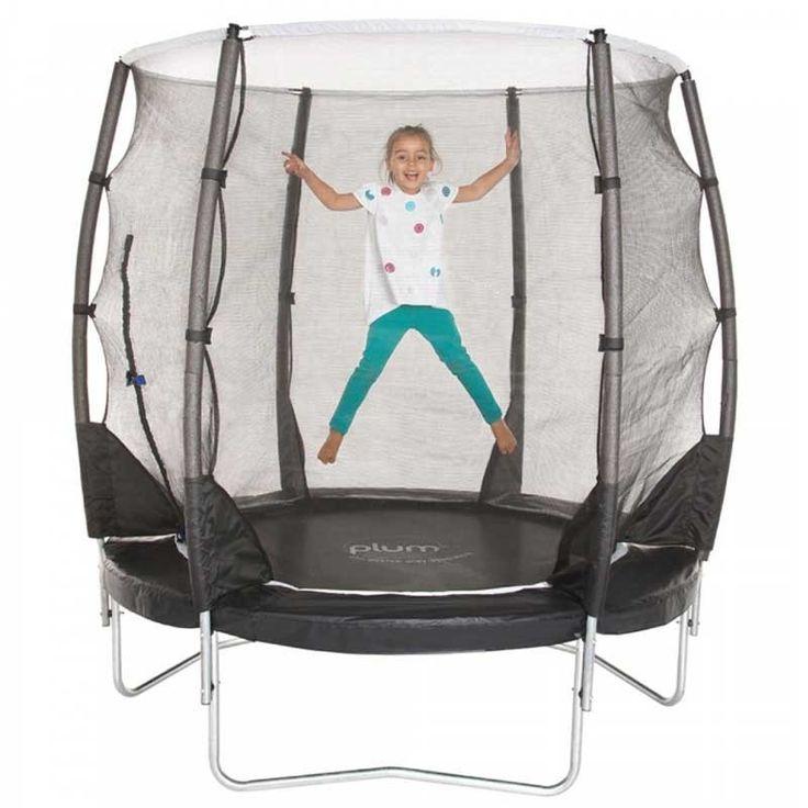 Plum®  Plum Magnitude 6ft trampoline and enclosure