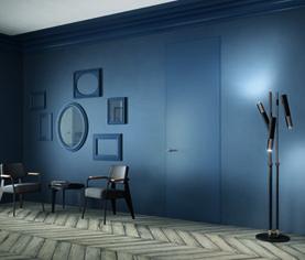 Sistema Zero: La porta filo muro che si integra perfettamente alla parete by #FerreroLegno