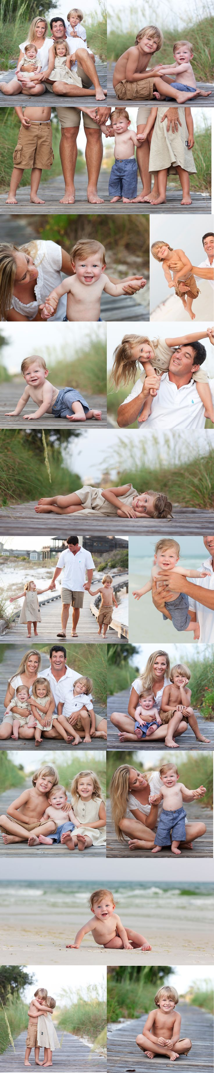 Adorable beach family shots I so want to take a family picture like these one day
