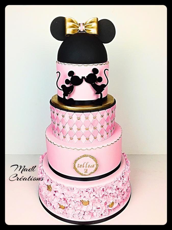 Minnie cake princess by Cindy Sauvage