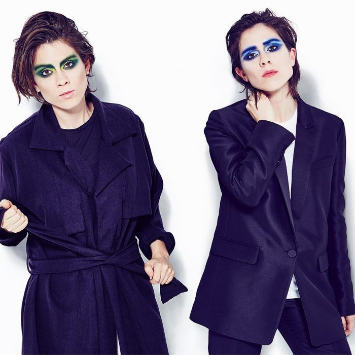 Tegan And Sara (yeah, the girls with that Lego movie song) are about to return with a new album and this is a new single called 'Stop Desire'.
