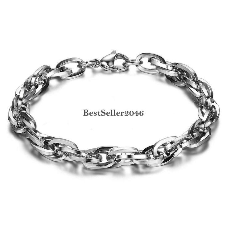Silber armband  Die besten 25+ Silber armband herren Ideen auf Pinterest | Herren ...