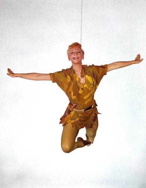 "operaqueen: "" Mary Martin, Peter Pan. 1960 """