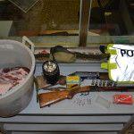 Carcassa di capriolo, armi e munizioni: denunciato 60enne per bracconaggio a Urbania