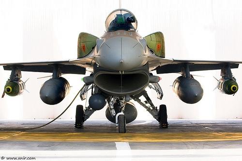 packed Israel Air Force by xnir