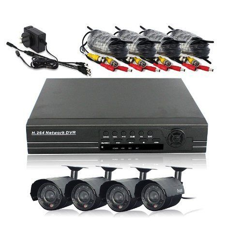 432 best electronics images on pinterest consumer electronics zmodo 4 channel dvr security system with 4 night vision cameras and remote view fandeluxe Gallery