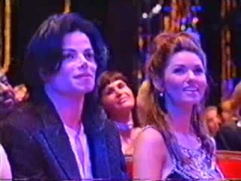 Diana Ross Sit On Michael Jackson At World Music Awards 1996 - YouTube