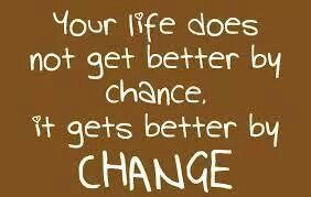 Change is like going on an adventure!