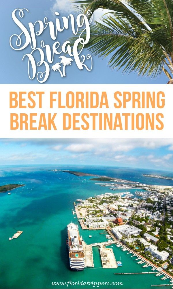 15 Best Places For Spring Break In Florida Travel Fun Spring Travel Destinations Travel Usa
