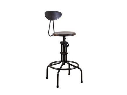 """Барный стул """"Isaac Counter Stool"""" для интерьеров в стиле индастриал"""