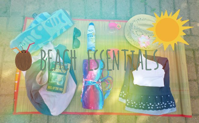 Beach essentials #summer #beach