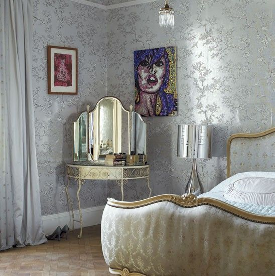 Teenage girl's bedroom | Quirky and eclectic mansion house tour | housetohome.co.uk