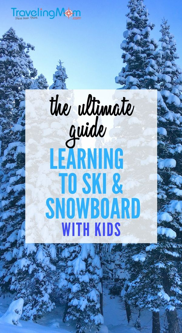 The ultimate guide to loading up the kids and learning to ski and snowboard. With topics like what to expect for your first lesson, healthy snacks, and how to dress for skiing, this article is your go-to source. #SkiPA #learntoski #ski #TMOM