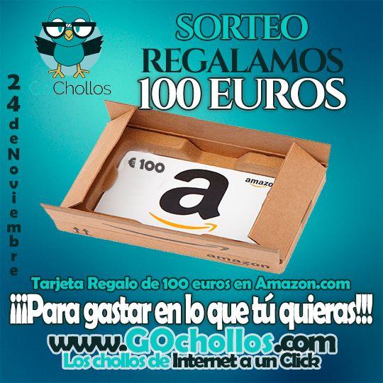 Ayúdame a ganar un cheque #regalo de 100 euros en Amazon.es con @Gochollos