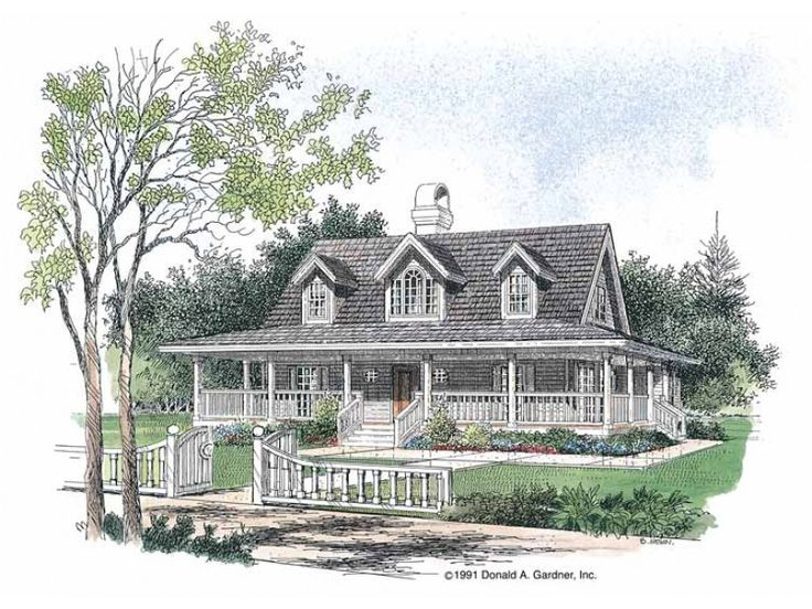 low country style 2 story 3 bedroomss house plan with 1778 total square