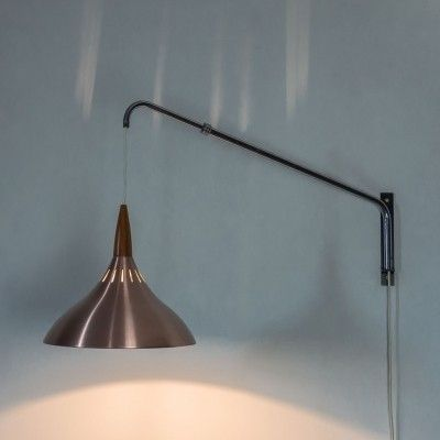Wall lamp from the sixties by unknown designer for Raak Amsterdam