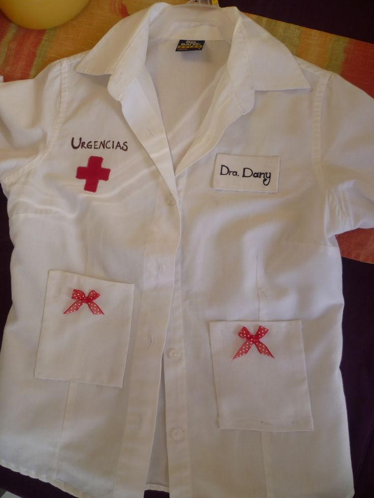 como hacer disfraz de medico niño - Buscar con Google