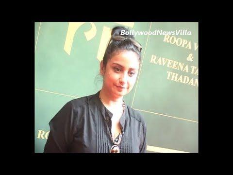 bollywood BHABHI divya dutta at raveena tandon's jewellery store.