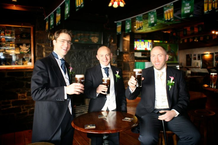 Wedding in Galway, Ireland - One last Guinness as a free man!