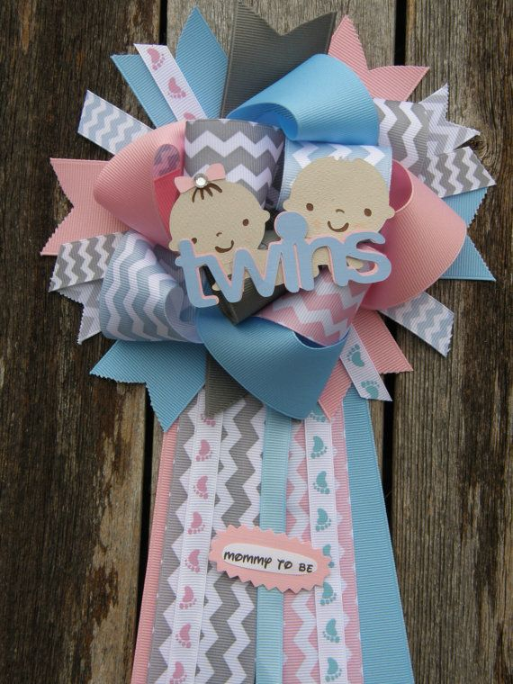 Twins Baby Shower Mumtwins Baby Shower By Bonbow On Etsy, $18.99