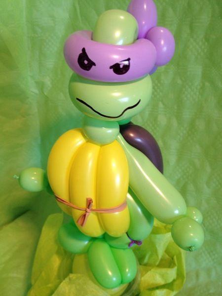 Turtle aus Modellierballons von sweet-little-monsters auf DaWanda.com