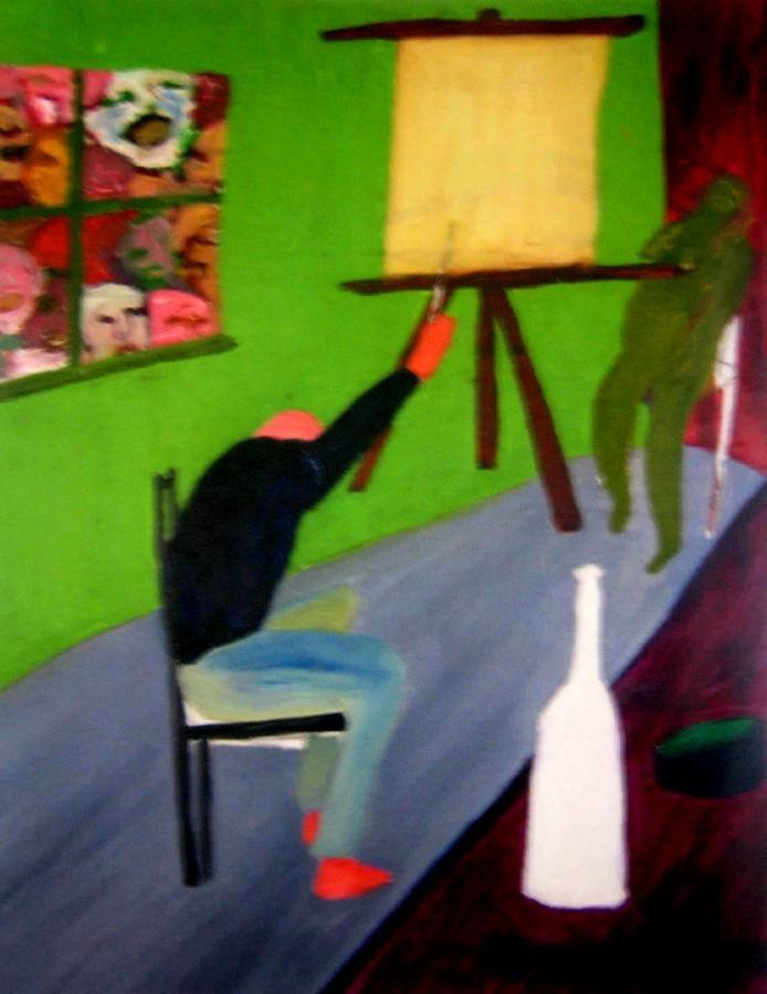 The Artist in the Studio