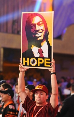 Robert Griffin III: NFL rookie of the year