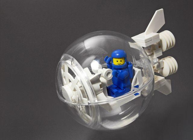 CS Transit Bubble #LEGO #space #MOC