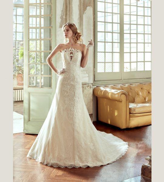 Vestidos de novia palabra de honor 2017: ¡El diseño más deseado! Image: 14