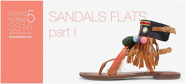 StyleFile: SS16 Trend Notes SANDALS FLATS