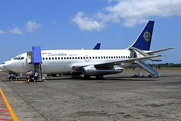 2005 ♦ September 5 – Mandala Airlines Flight 091, a Boeing 737-200, crashes in Medan, Indonesia, killing 103 of the 111 passengers and all 5 crew members on board the aircraft and an additional 47 people on the ground.