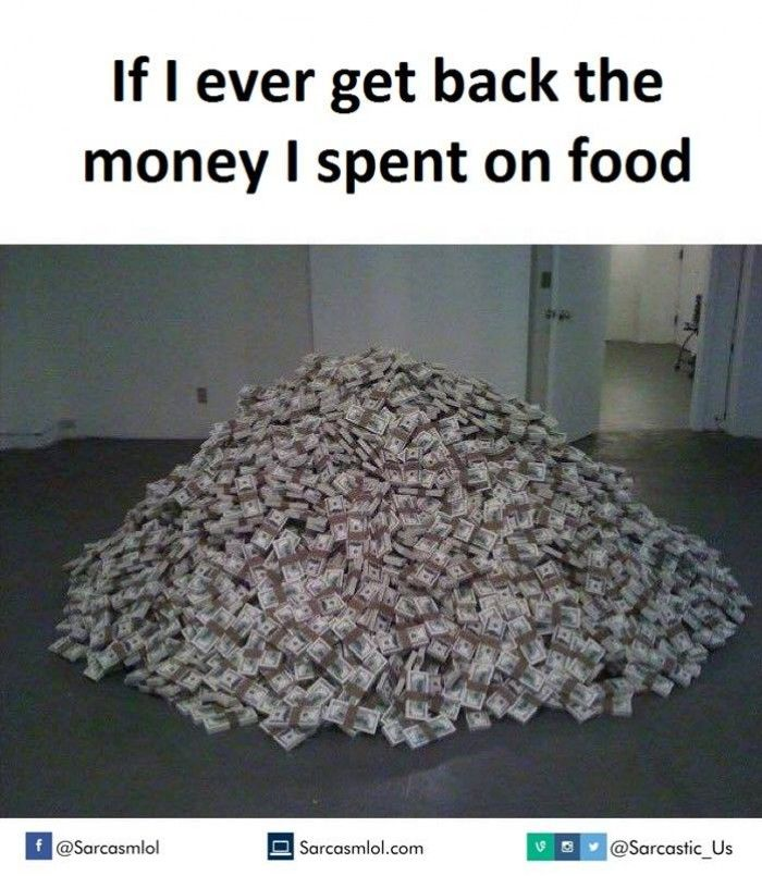 Get back the #money #spend on #food!