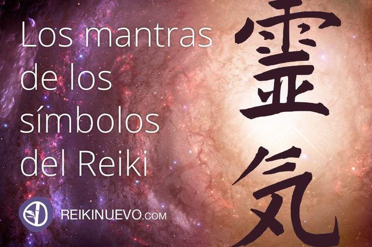Los mantras de los símbolos del Reiki... ¿Cuáles son los mantras de los símbolos del Reiki? Te explicamos en el siguiente artículo. Más información: http://reikinuevo.com/mantras-simbolos-reiki/