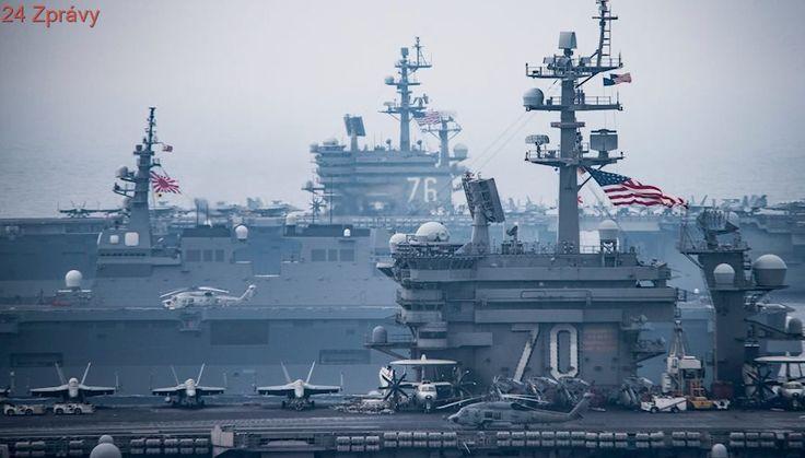 Jak potopit nejsilnější americké zbraně? Čínské a ruské námořnictvo je dobře připraveno