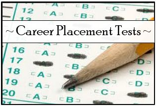 I Graduated ... Now What? : Career Placement Tests