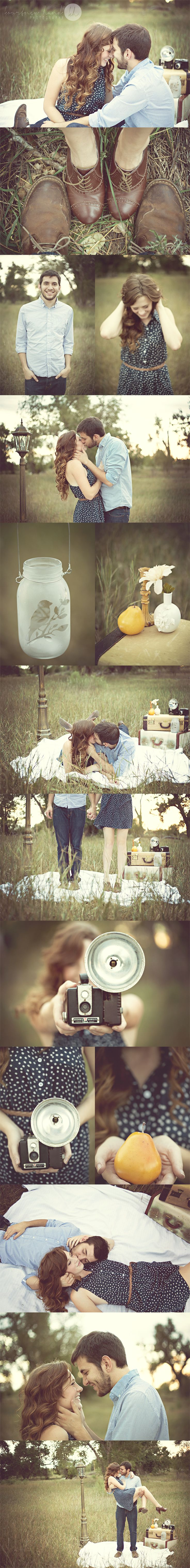 Vintage Inspired Couple Shoot | Kourtney Hand Photography  I wish I could have a relationship like this