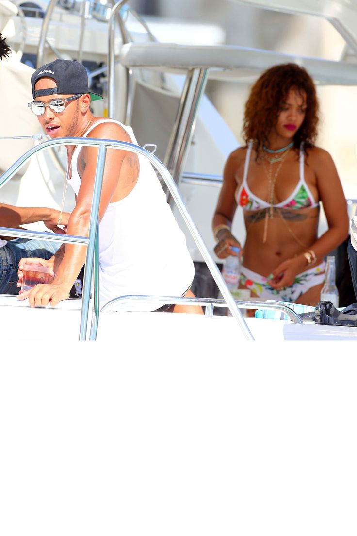 "Rihanna and rumored new boyfriend Lewis Hamilton vacation together in Barbados as a source tells E! News, ""they had lots of fun together around the island and also got some private romantic time.""   - HarpersBAZAAR.com"
