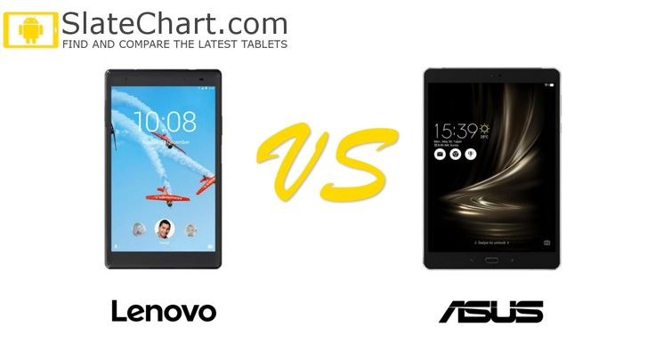 The side-by-side comparison of the Lenovo Tab 4 8 Plus and Asus ZenPad 3S 8.0 tablets. #tablets #comparison #LenovoTab48Plus #AsusZenPad3S80