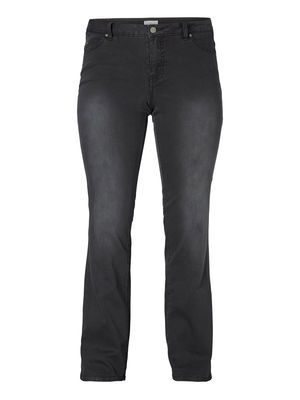 For a casual cool look choose a pair of straight leg jeans. #junarose #denim #fashion #jeans #plussize