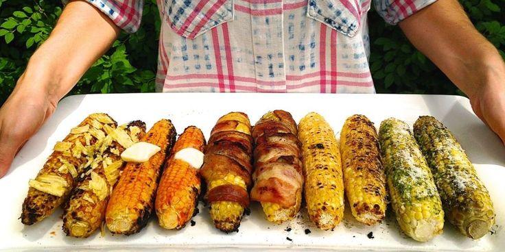 6 magical corn on the cob recipes.
