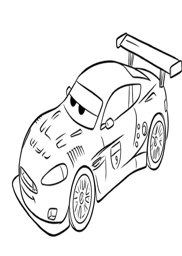 11 best Cars coloring pages images on Pinterest Disney