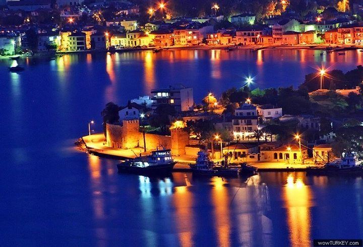 Good Night my friends   İyi geceler arkadaşlar  . from Foca in Izmir